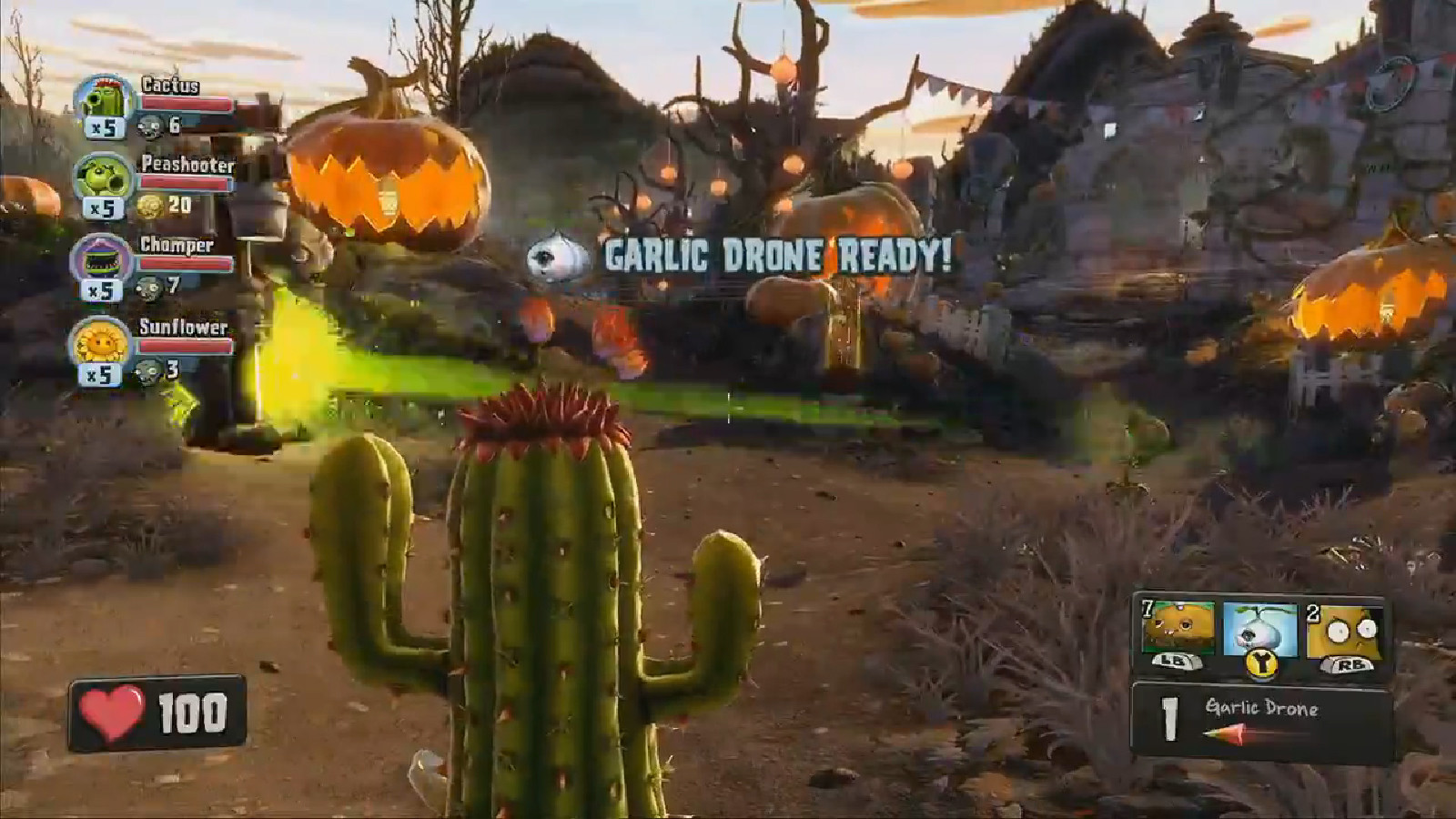 Plants Vs Zombies: Garden Warfare has local co-op on Xbox One ...