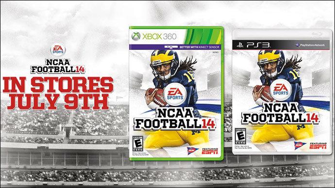 ... of the fastest players in NCAA Football 14? Twitter/EA NCAA Football