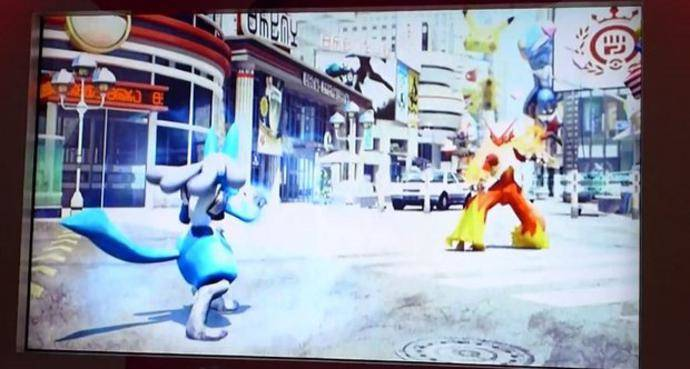 pokken fighers - Pokemon