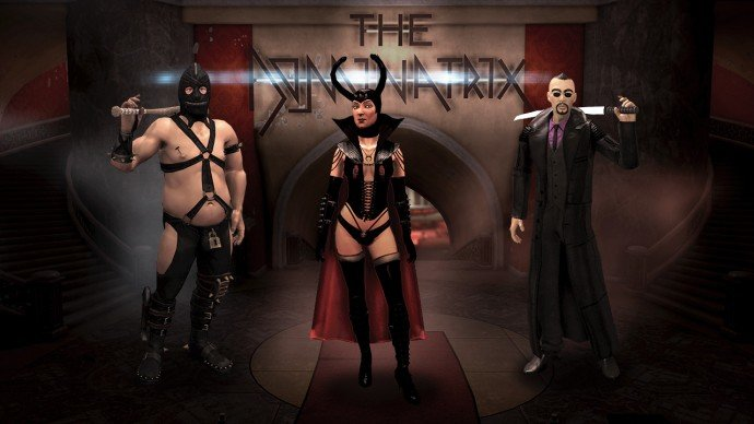 Enter the Dominatrix Screen