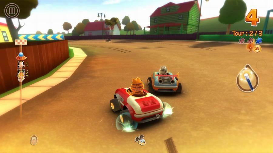 Garfield Kart Review Gamesreviews Com