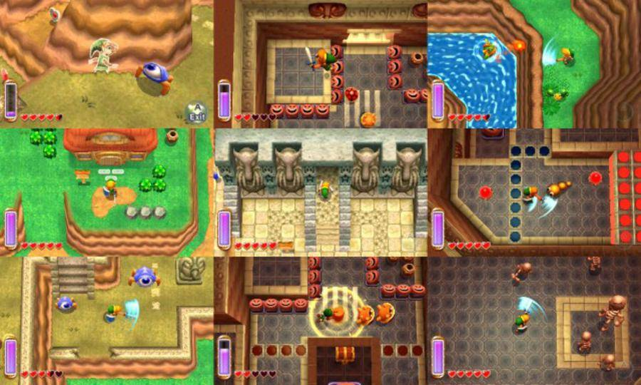 Legend of Zelda A Link Between Worlds Review | GamesReviews.com