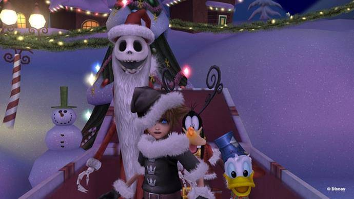 KingdomHearts2-Nightmare Christmas