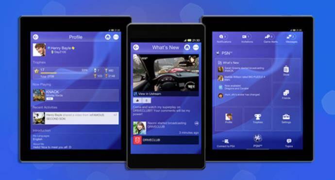 PlayStation4-app