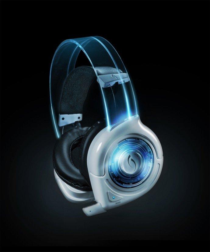 white headset