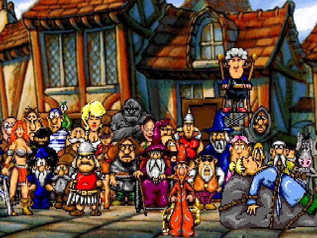 """Les jeux d'aventure (dont les """"point'n click"""" et les """"Visual Novel"""")  Discworld"""