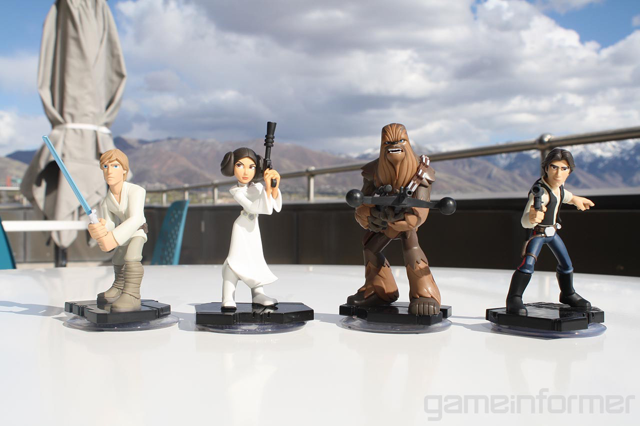 Star Wars Disney Character Figures Disney-infinity-3.0-star-wars