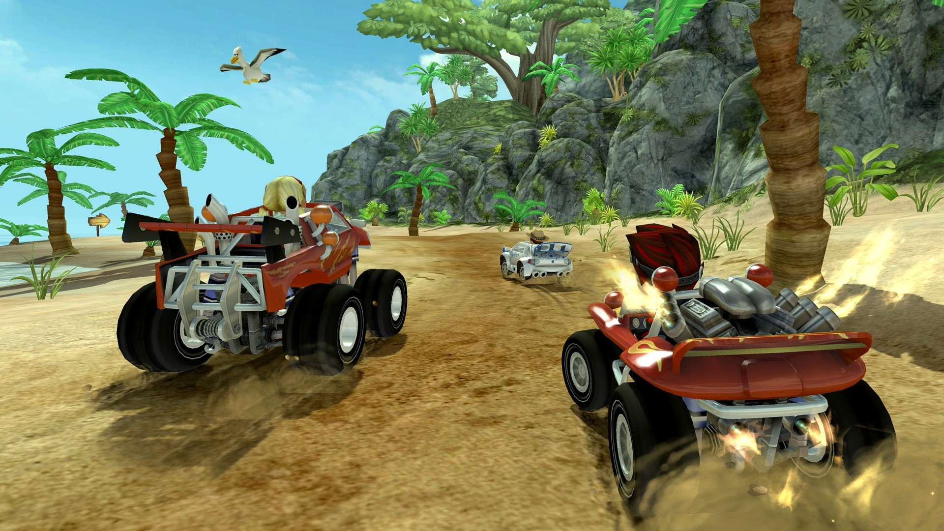 Screenshot01_OffroadKartRacing