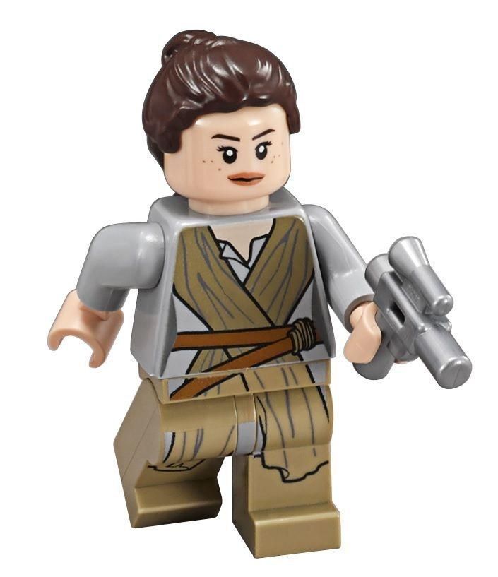 Lego Star Wars The Force Awakens Rey Character Trailer