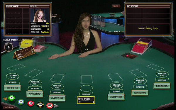 Live Dealer Blackjack | Slotozilla