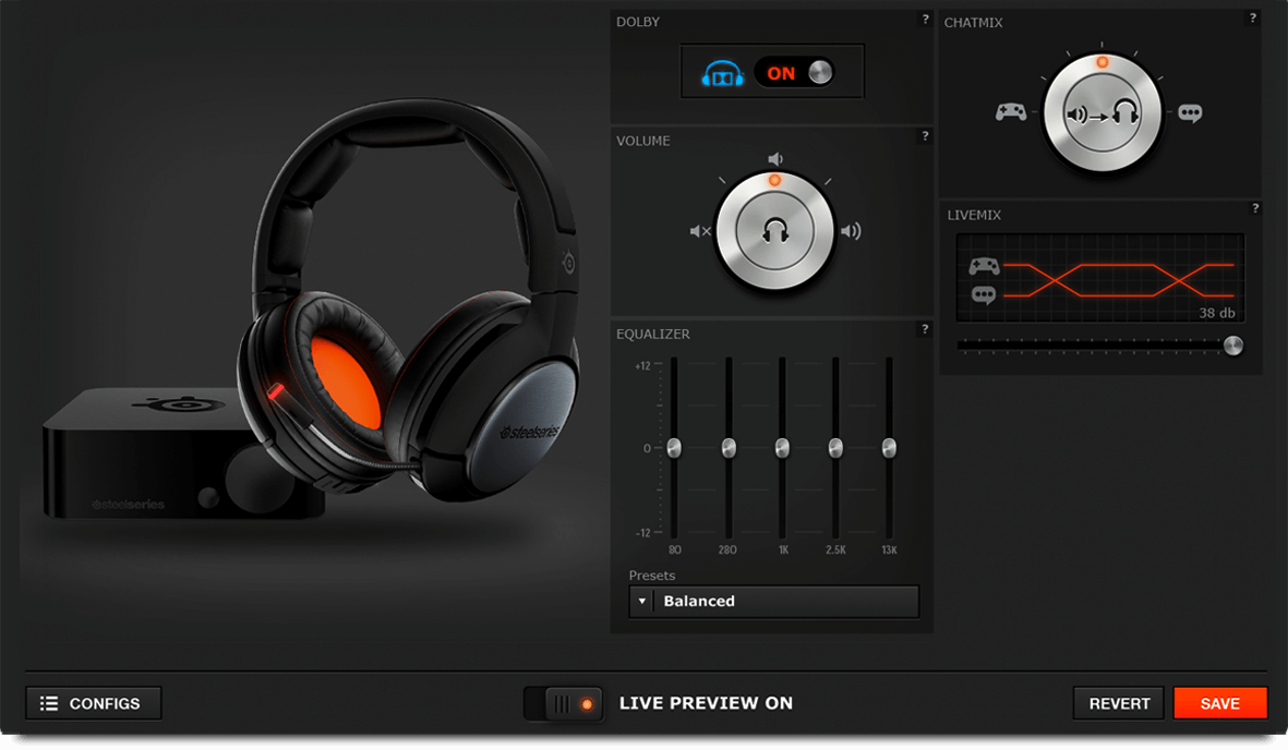 0c52dce6b79 The company is taking that design to the next level with the Siberia 840 Wireless  Gaming Headset.