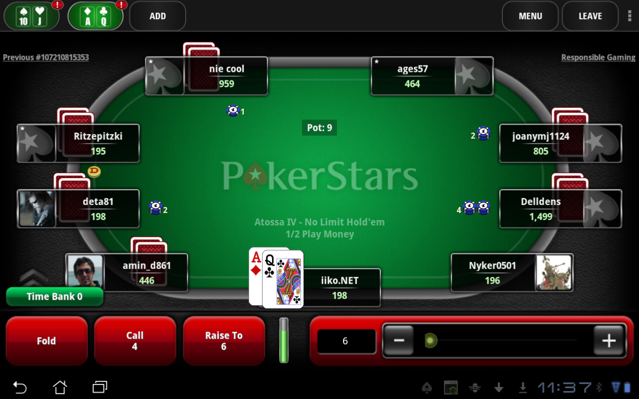 Pokerstars Online Support