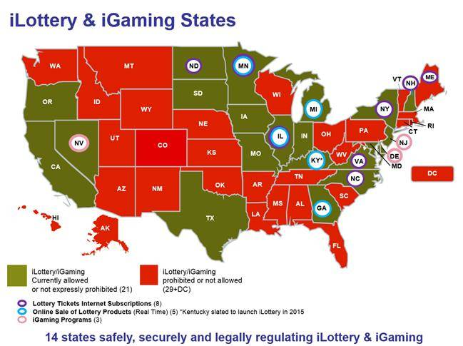 Online Casinos Legal In Usa