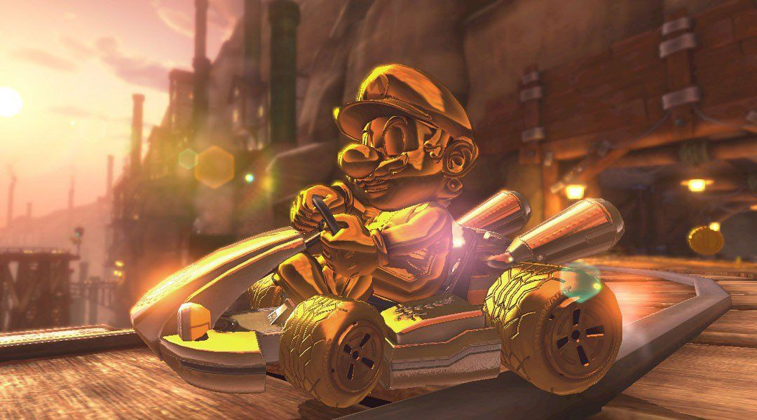 unlocking the gold combination in mario kart 8 deluxe. Black Bedroom Furniture Sets. Home Design Ideas