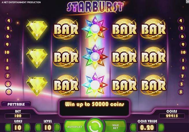 Starburst slot machine recension ouverture casino saint jean de maurienne