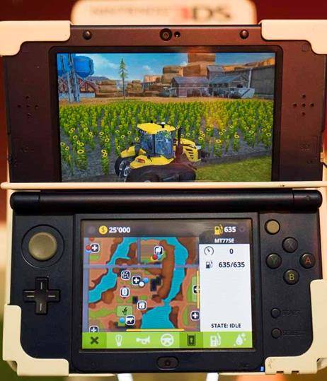 Nintendo 3DS Simulation Games