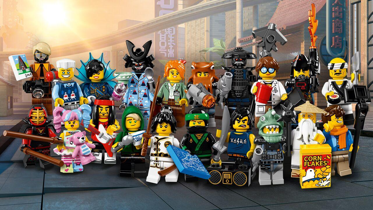 Available Now: LEGO Ninjago Movie Minifigure Series ...