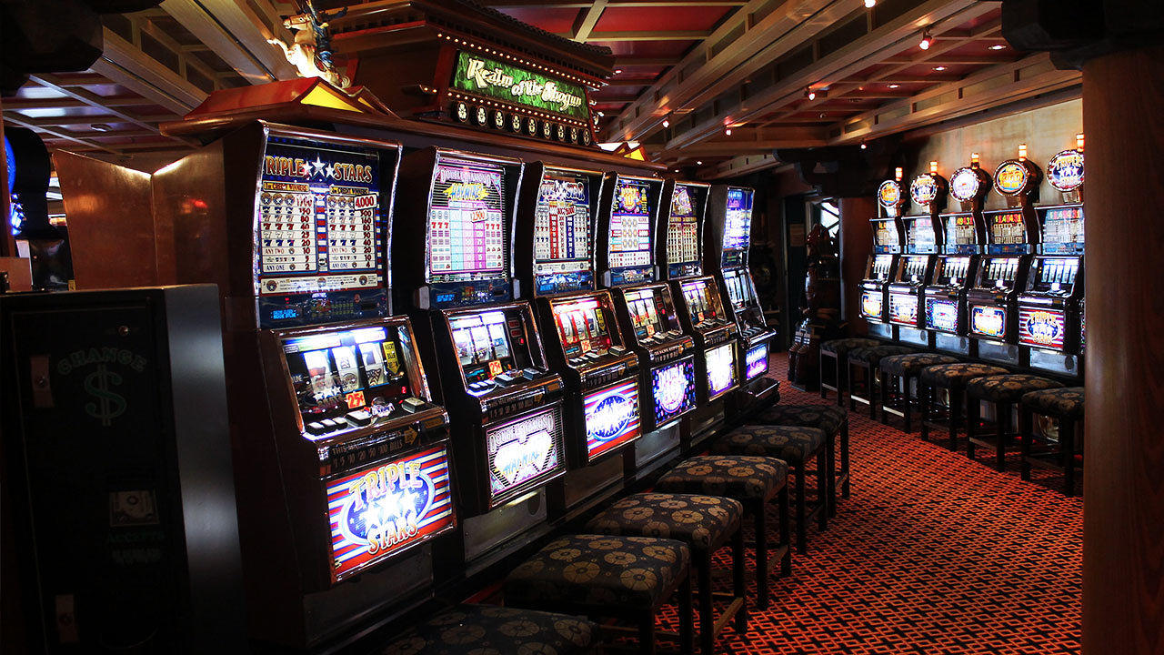 Electronic slot machines how to win