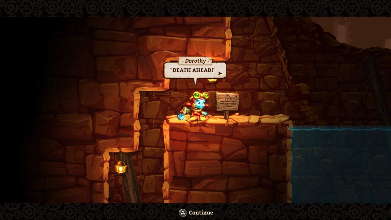 Steamworld Dig 2 Review Way Switch Animation At Its Core Is A Lot Like The First Game You Play As Different Character This Time Dorothy But She Still Digs Into Earth And