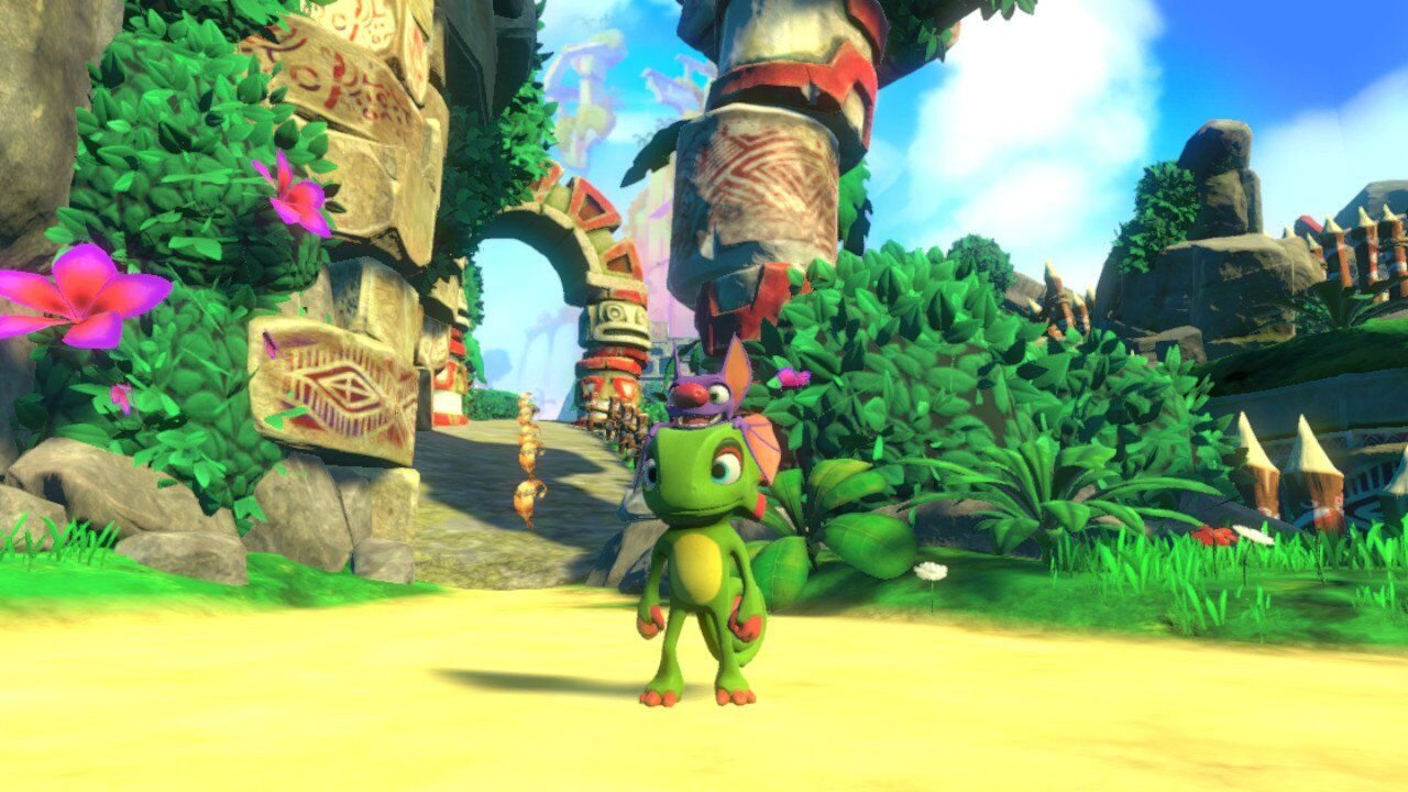 Yooka Laylee Nintendo Switch Review Ps4 Overall Is A Fun Game It Doesnt Reinvent The Platformer Wheel But Has Lot Of Content And Looks Plays Great On Tv In