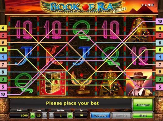 Novomatic Games Book Of Ra