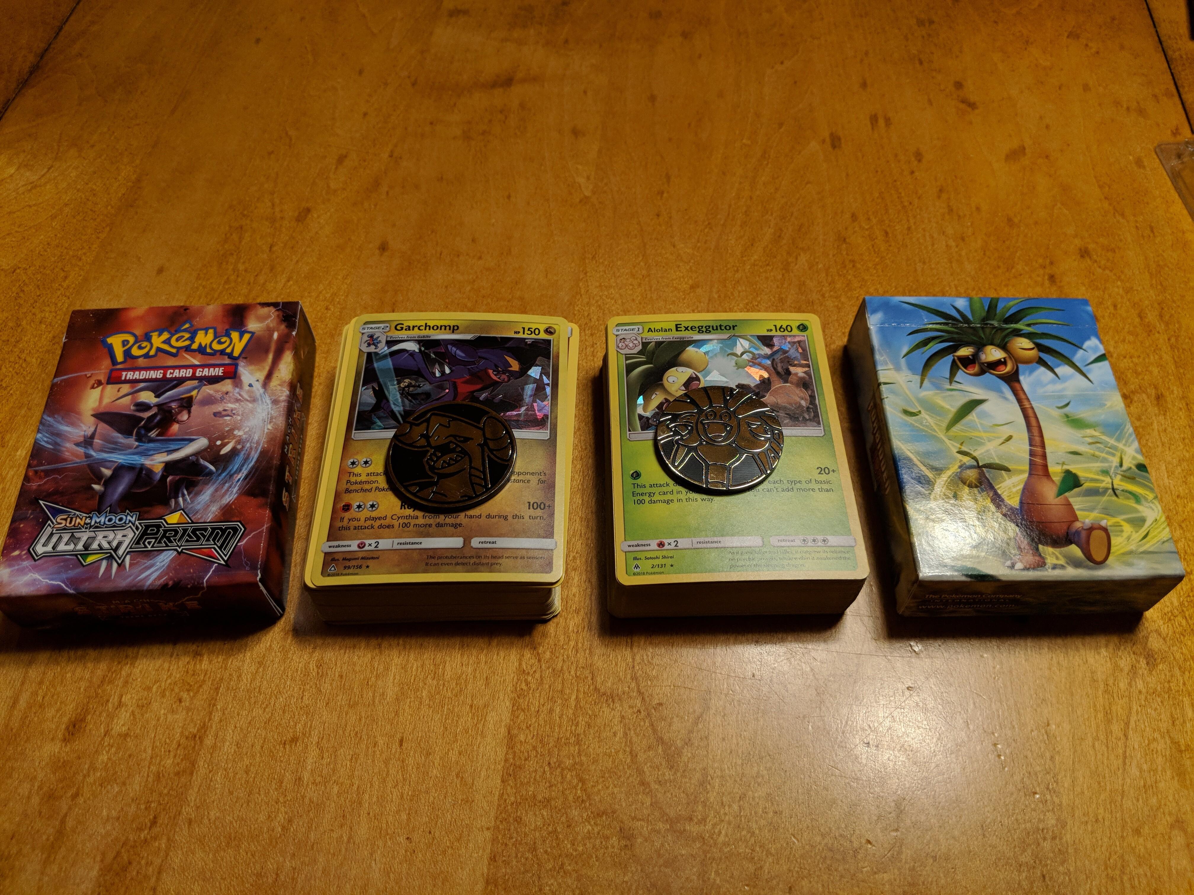 Forbidden Light Themed Decks Pokemon Trading Card Game
