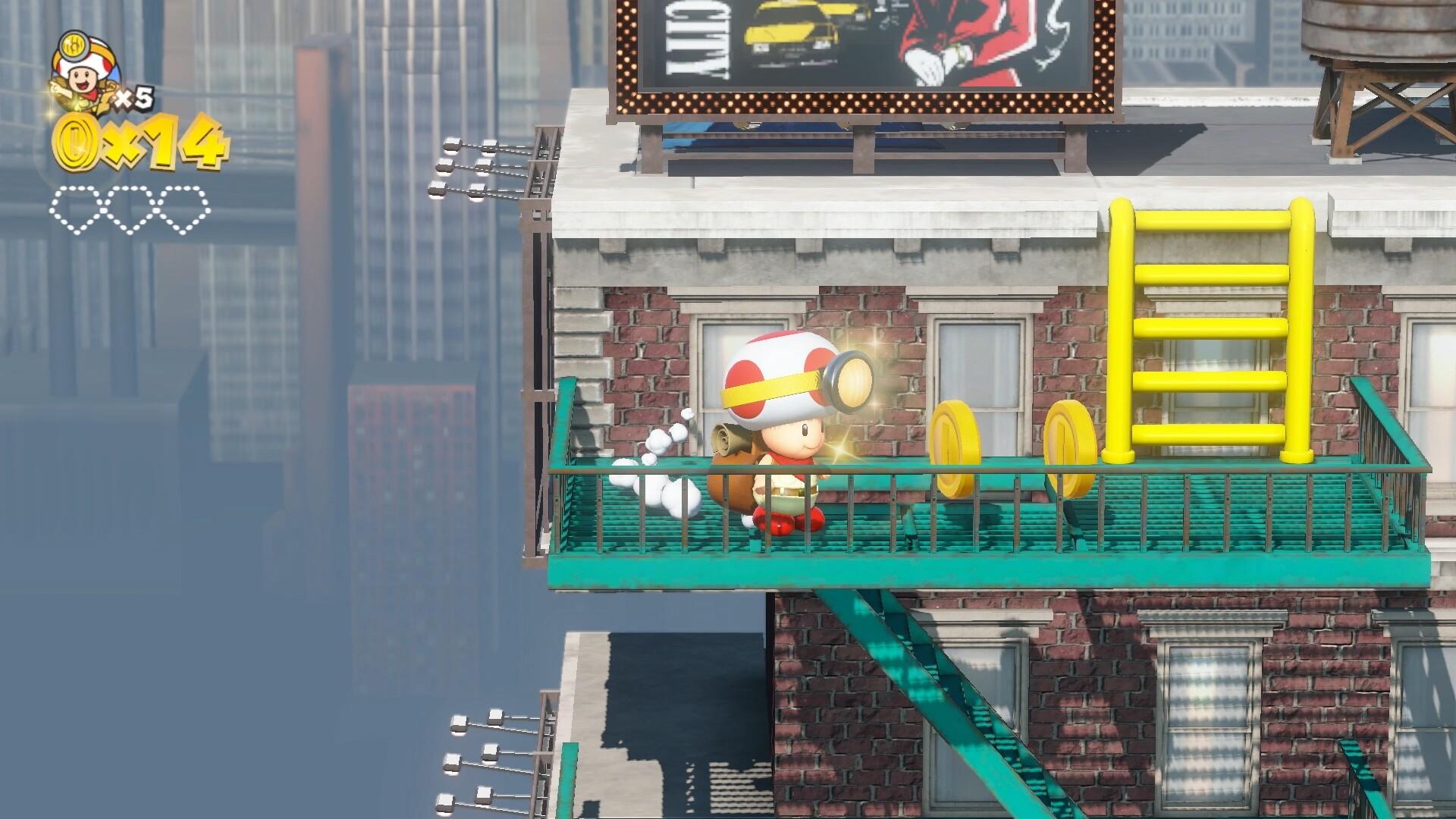 Captain Toad: Treasure Tracker - Super Mario Odyssey Levels
