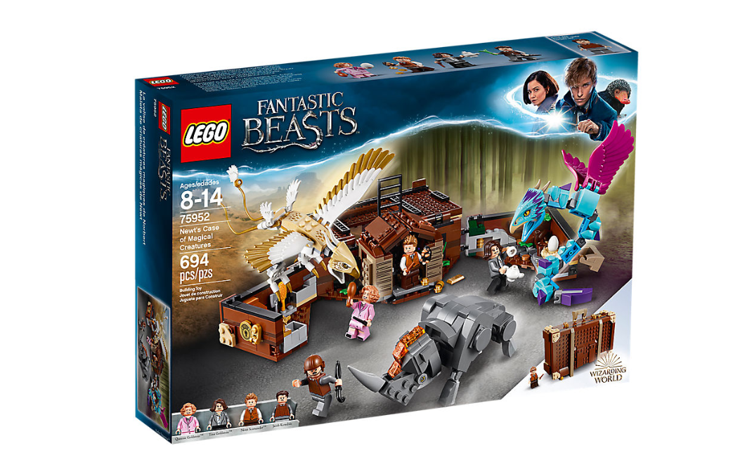 LEGO 75952 Newt´s Case of Magical Creatures Harry Potter Fantastic Beasts Aug 1