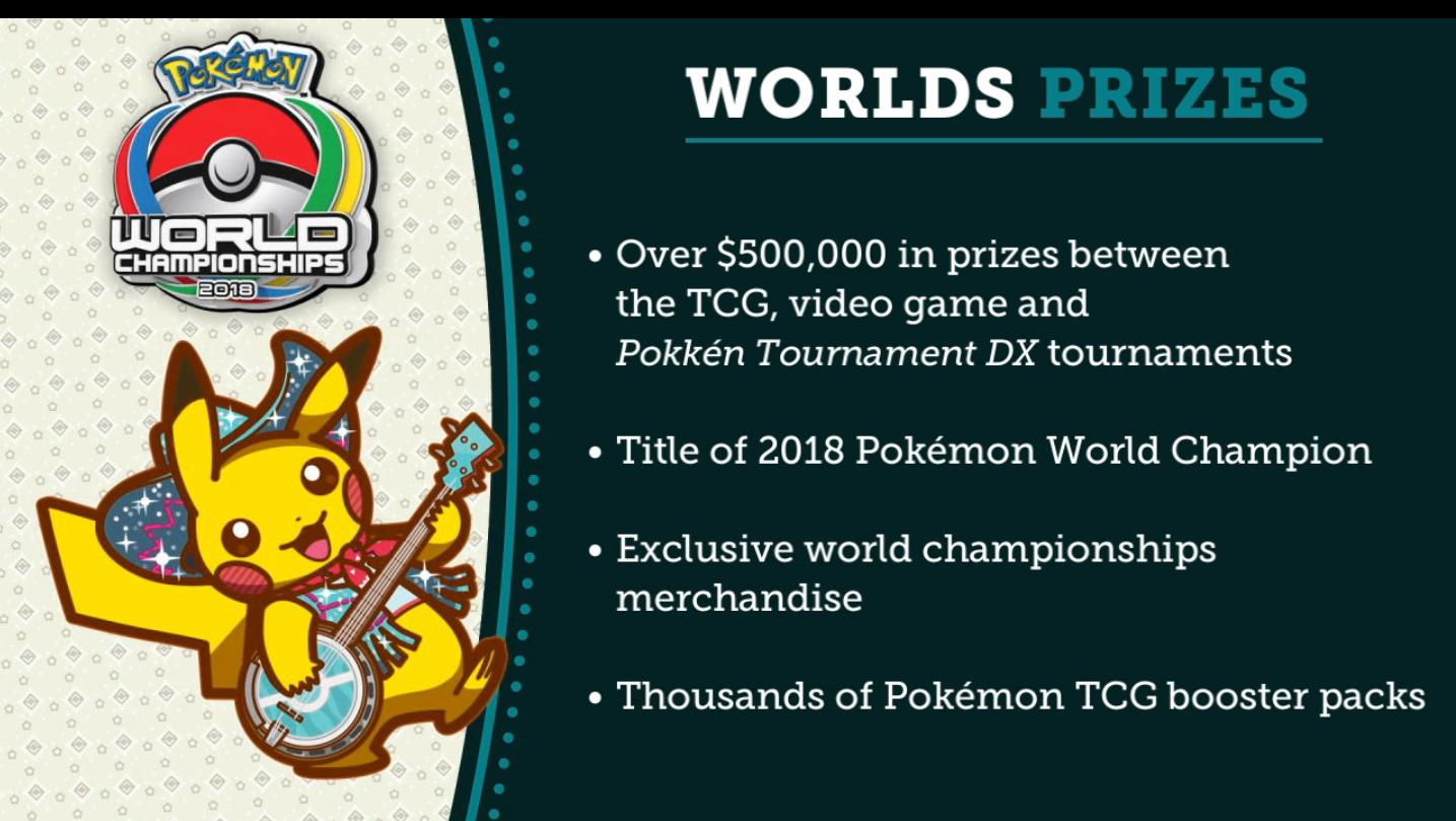 Pokemon tournament prizes