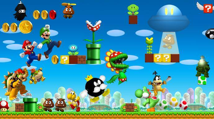 Mario Games - Play Free Online Mario Games