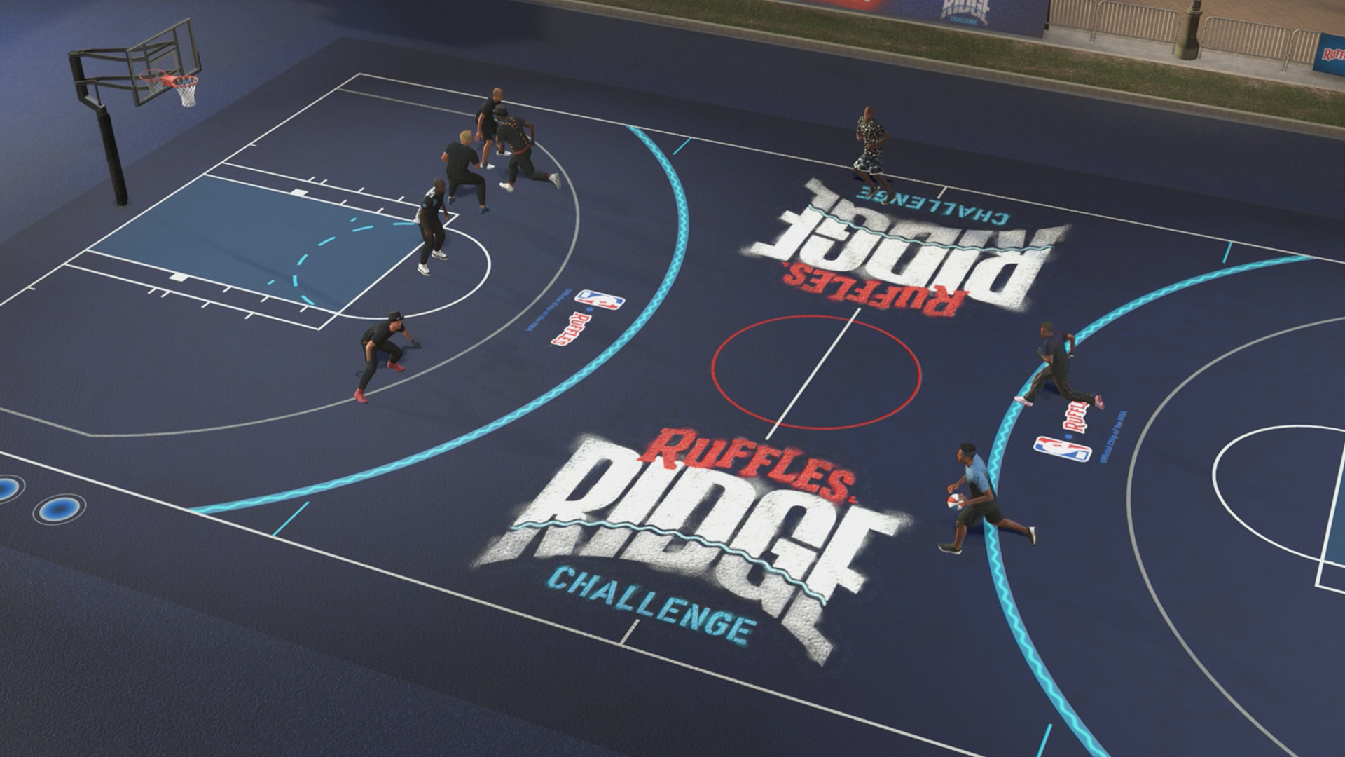 Ruffles and 2k Team Up for 4 Point Line in NBA 2K19
