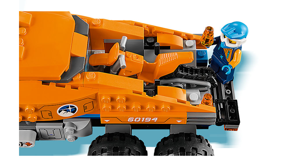 LEGO 60194 - Arctic Scout Truck Review | GamesReviews com