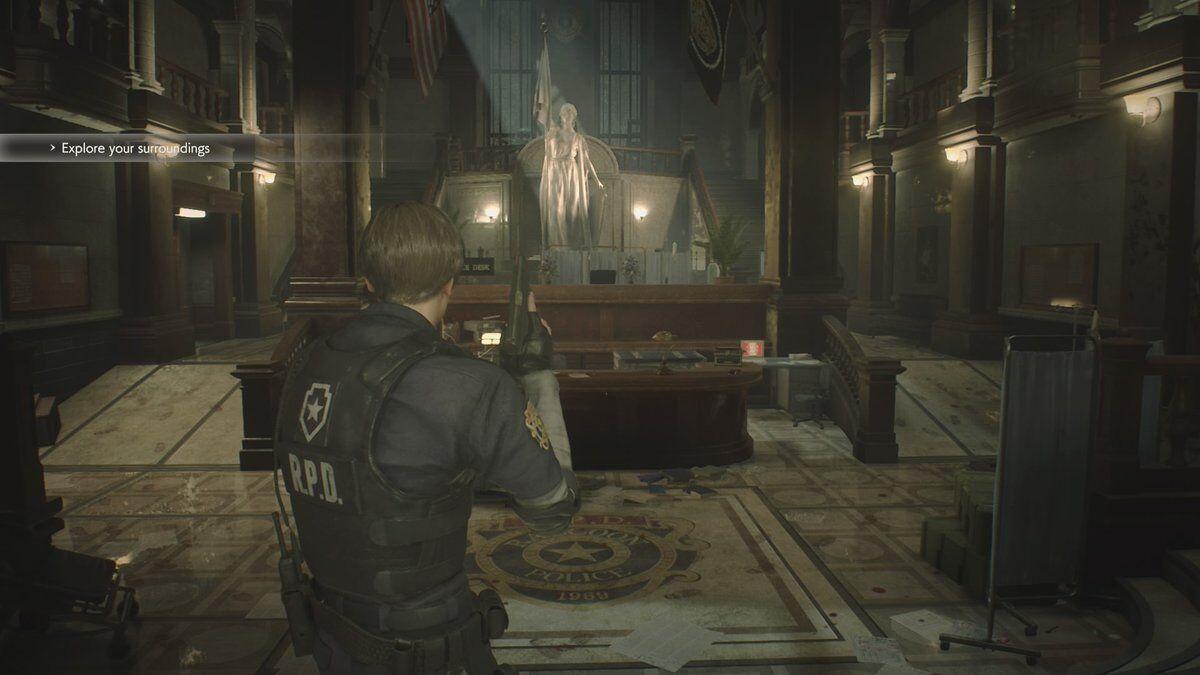 Resident Evil 2 1 Shot Demo Thoughts Gamesreviews Com