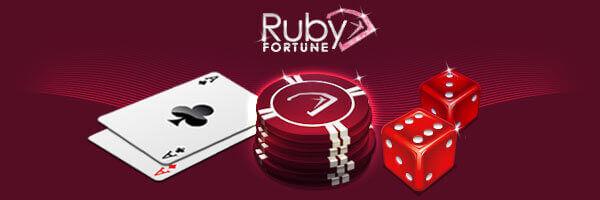 Ruby fortune login
