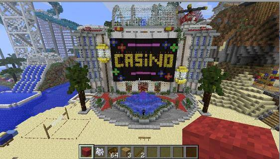 How to Build a Casino in Minecraft | GamesReviews com