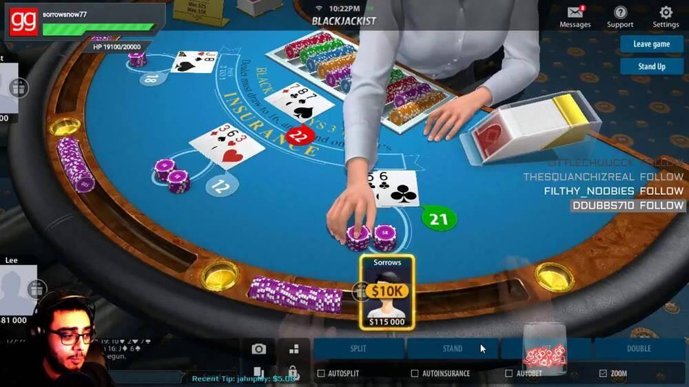 Play 21 Blackjack Online Free