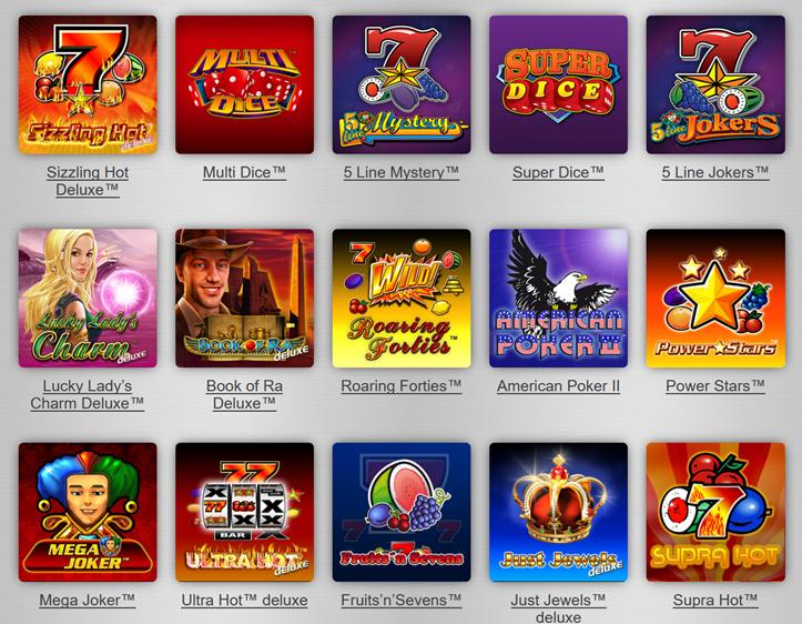 slots casino gaminator