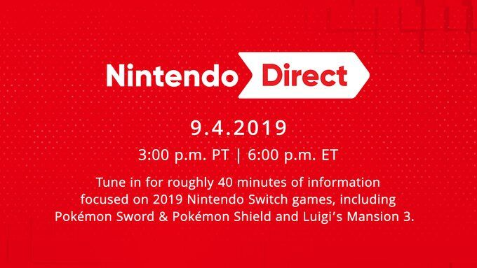 More Thoughts From Me #185: 9/4/2019 Nintendo Direct
