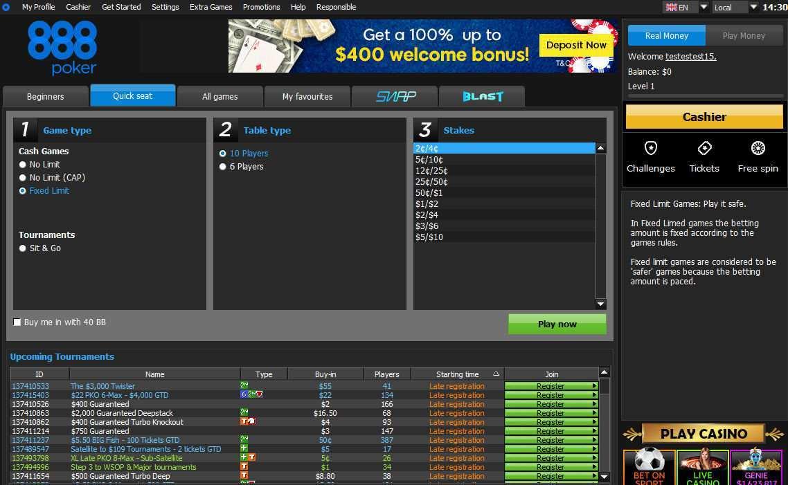 888 Poker Legit
