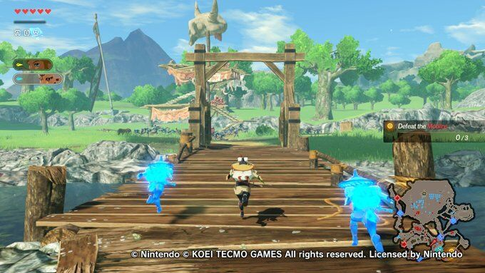 Hyrule Warriors Age Of Calamity Demo Impressions Gamesreviews Com